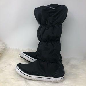 Adidas Adiwinter Black Puffer Boots Size 8.5